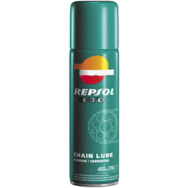 Repsol Moto Chain Lube - 400ml - 2009 Yamaha RHINO 700 BikeMaster Oil Filter - Chrome