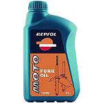 Repsol 10W Moto Fork Oil - 1 Liter - Repsol Dirt Bike Fluids and Lubricants