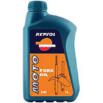 Repsol 5W Moto Fork Oil - 1 Liter - Repsol Dirt Bike Fluids and Lubricants