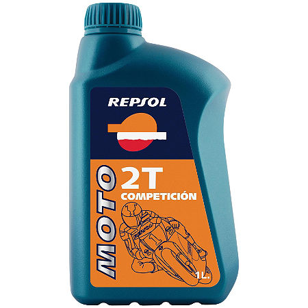 Repsol Moto 2T Competicion Full Synthetic 2-Stroke Oil - 1 Liter - Main