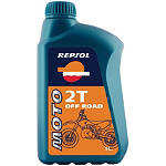 Repsol Moto 2T Off Road 2-Stroke Oil - 1 Liter - Utility ATV Fluids and Lubricants