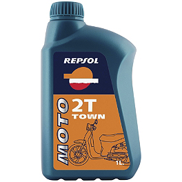 Repsol Moto 2T Town 2-Stroke Oil - 1 Liter - Camelbak Cleaning Brush Kit