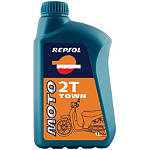 Repsol Moto 2T Town 2-Stroke Oil - 1 Liter - Repsol Motorcycle Tools and Maintenance