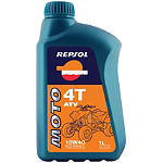 Repsol 10W40 Moto 4T ATV Full Synthetic Oil - 1 Liter - Repsol Motorcycle Tools and Maintenance