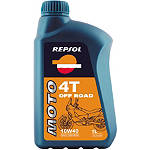 Repsol 10W40 Moto 4T Off Road Full Synthetic Oil - 1 Liter - Repsol Dirt Bike Products