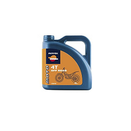Repsol 10W40 Moto 4T Off Road Full Synthetic Oil - 4 Liter - Repsol 10W40 Moto 4T Sintetico Full Synthetic Oil - 4 Liter