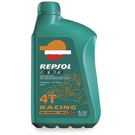 Repsol 10W50 Moto 4T Racing Full Synthetic Oil - 1 Liter - Main