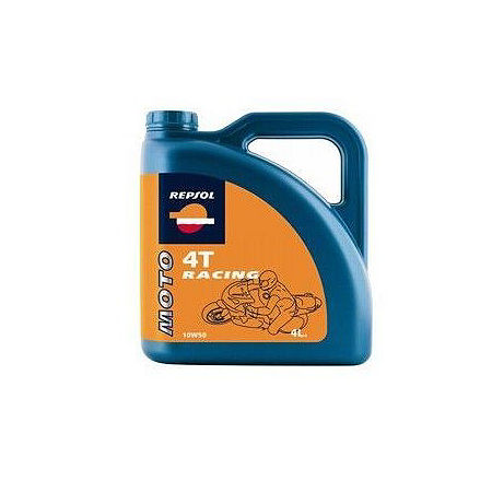 Repsol 10W50 Moto 4T Racing Full Synthetic Oil - 4 Liter - Main