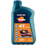 Repsol 10W30 Moto 4T Racing Hmeoc Full Synthetic Oil - 4 Liter - Repsol Cruiser Riding Accessories