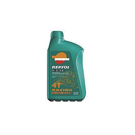 Repsol 5W40 Moto 4T Racing Synthetic Blend Oil - 4 Liter - Main