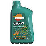 Repsol 5W40 Moto 4T Racing Synthetic Blend Oil - 4 Liter - Utility ATV Fluids and Lubricants