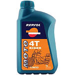Repsol 10W40 Moto 4T Rider Oil - 1 Liter - Motorcycle Fluids and Lubricants