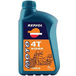 Repsol 15W50 Moto 4T Rider Oil - 4 Liter - Repsol Dirt Bike Fluids and Lubricants