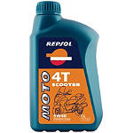 Repsol 5W40 Moto 4T Scooter Synthetic Blend Oil - 1 Liter - Motorcycle Fluids and Lubricants