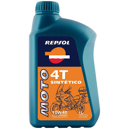 Repsol 10W40 Moto 4T Sintetico Full Synthetic Oil - 1 Liter - Main