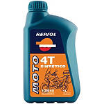Repsol 10W40 Moto 4T Sintetico Full Synthetic Oil - 1 Liter - Repsol Dirt Bike Products
