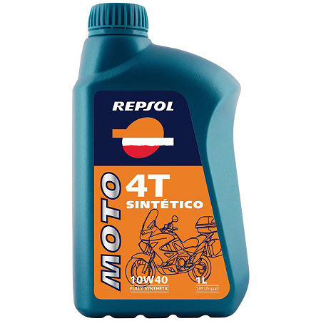 Repsol 10W40 Moto 4T Sintetico Full Synthetic Oil - 4 Liter - Main