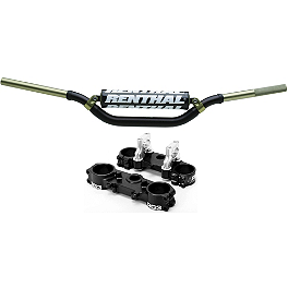 RG3 Complete Clamp Set With Renthal Twinwall Handlebar Combo - RG3 Complete Clamp Set With Turner Oversized Handlebar Combo