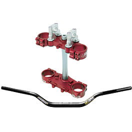 RG3 Complete Clamp Set With Pro Taper Contour Handlebar Combo - RG3 Complete Clamp Set With Renthal Twinwall Handlebar Combo