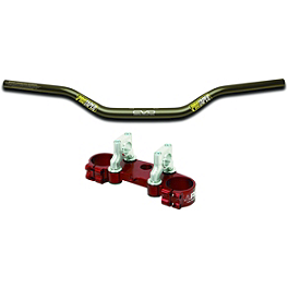 RG3 Top Clamp With Pro Taper Evo Handlebar Combo - RG3 Complete Clamp Set With Pro Taper Evo Handlebar Combo