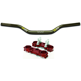 RG3 Complete Clamp Set With Pro Taper Evo Handlebar Combo - RG3 Complete Clamp Set With Turner Oversized Handlebar Combo