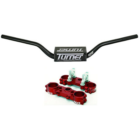 RG3 Complete Clamp Set With Turner Oversized Handlebar Combo - Main