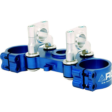 RG3 Gen 2 Top Triple Clamp - Blue - Main