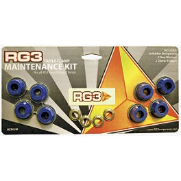 RG3 Clamp Maintenance Kit - Applied Rubber Cones For Bar Mounts