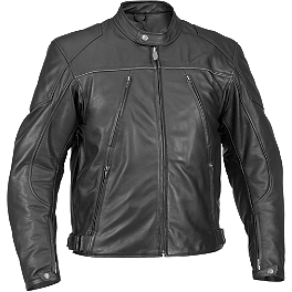 River Road Mesa Leather Jacket - River Road Seneca Cool Leather Jacket