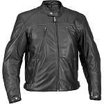 River Road Mesa Leather Jacket - River Road Cruiser Jackets and Vests