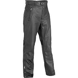 River Road Bravado II Leather Overpants - TourMaster Decker Leather Pants