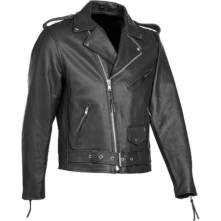 River Road Basic Leather Jacket - Main
