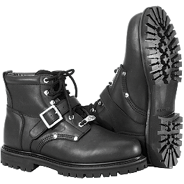 River Road Crossroads Buckle Boots - River Road Side-Zip Highway Boots