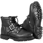 River Road Crossroads Buckle Boots - River Road Motorcycle Footwear