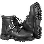 River Road Women's Crossroads Buckle Boots -  Military Approved Motorcycle Jackets & Vests
