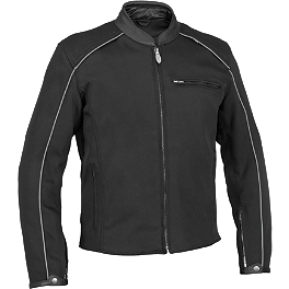 River Road Culprit Jacket - River Road Anvil Perforated Leather Jacket
