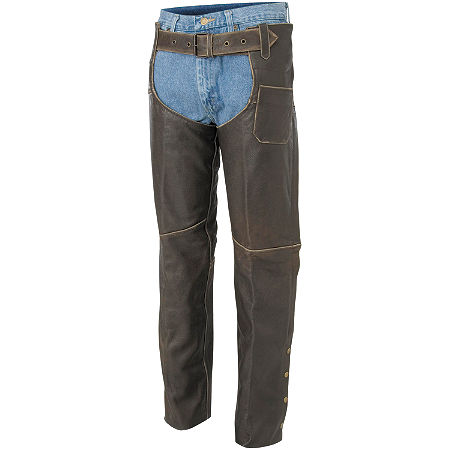 River Road Drifter Distressed Chaps - Main