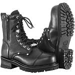 River Road Double Zipper Field Boots - Motorcycle Boots