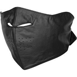 River Road Leather Facemask - Zan Headgear 3-In-1 Headband System