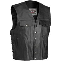 River Road Frontier Leather Vest