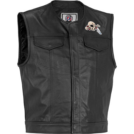 River Road Grateful Dead Cyclops Vest - Main