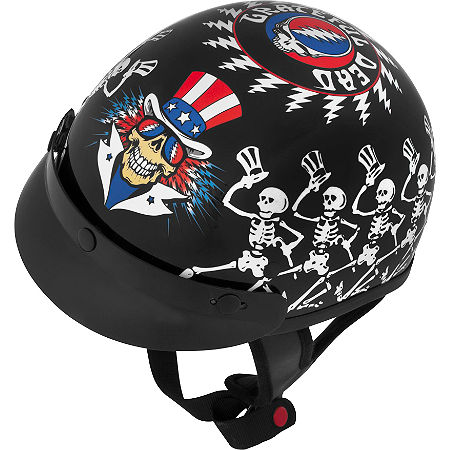 River Road Grateful Dead Helmet - Dancing Skeletons - Main