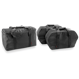 River Road Gold Wing Liner Bag For Side Case & Trunk Case - River Road Momentum Series Medium Slant Saddlebags With Quick Release Straps