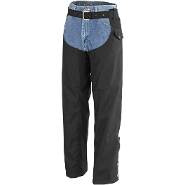 River Road Kinetic Chaps - River Road Plain Leather Chap
