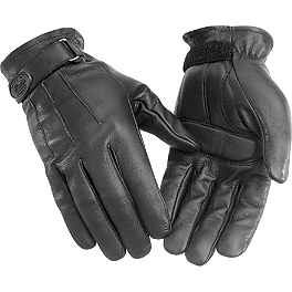 River Road Laredo Leather Gloves - River Road Rally Leather Gloves