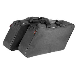 River Road Liner Bag For OEM Hard Saddlebag - River Road Twin Iron Leather Gloves