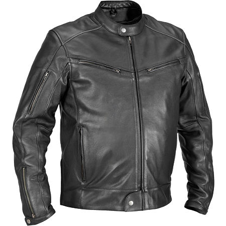 River Road Muskogee Cool Leather Jacket - Main