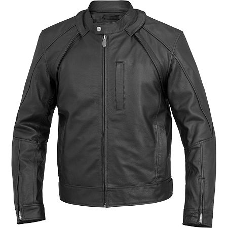 River Road Mortar Leather Jacket - Main