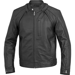 River Road Mortar Leather Jacket - River Road Muskogee Cool Leather Jacket