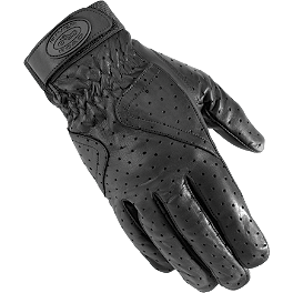 River Road Mesa Perforated Gloves - Vance & Hines Fiberglass Repacking Kit - 20
